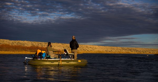 Water Master Bruin Two Man Raft Floating