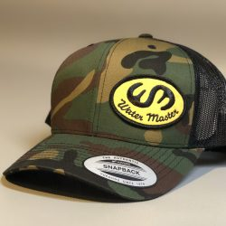 Water Master Camo Trucker Patch Hat