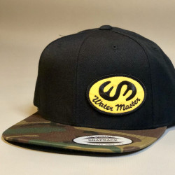 WM Camo Flat Bill Patch Hat