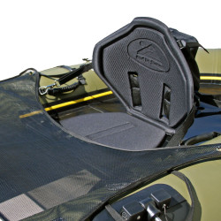 High-Back Soft Seat w/ Gear Pocket