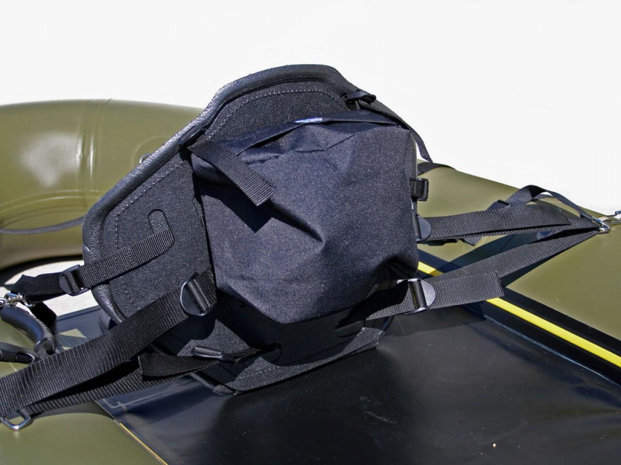 High-Back Soft Seat w/ Gear Pocket