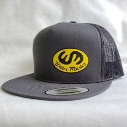 Water Master Flat Bill Snap Back Trucker Hat